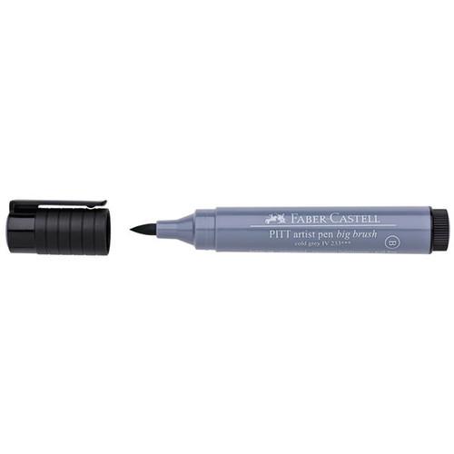 PITT Big Brush Pen - 233 Cold Grey IV - Great for Bible Journaling - Artist Pen