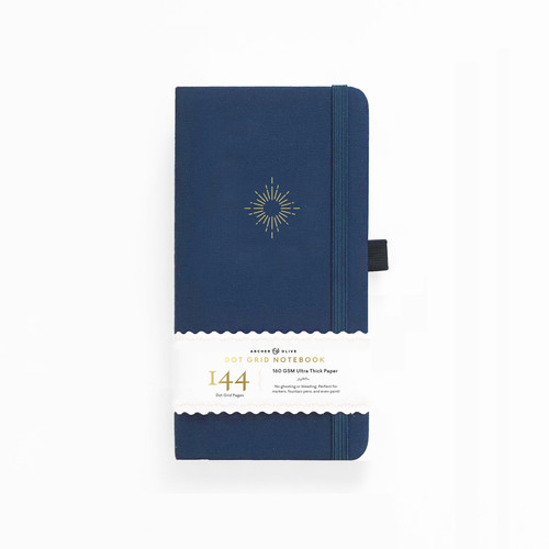 Traveler's North Star Dot Grid Notebook by Archer & Olive