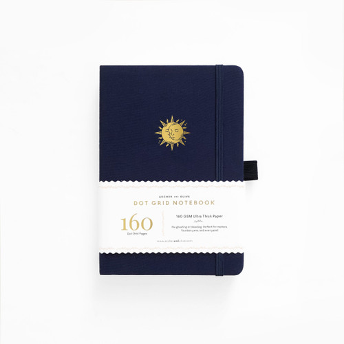A5 Autumnal Equinox Dot Grid Notebook by Archer & Olive