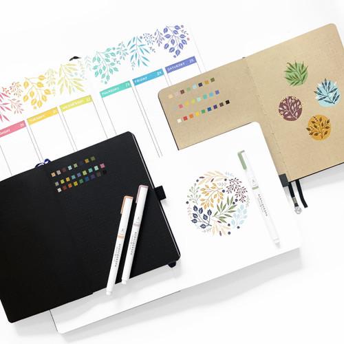 Acrylograph Pens Jewel Selection 0.7mm tip