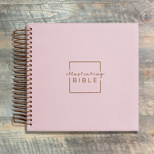 Illustrating Bible NIV Pink
