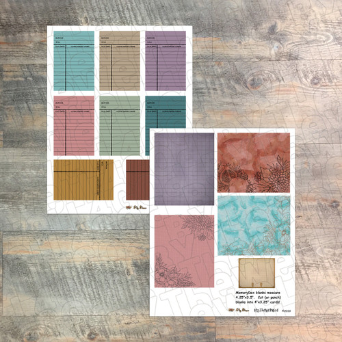 "Digital Paper Collection for ""My Peace"" Devotional Kit - 6 Sheets of Coordinating Papers - by ByTheWell4God"