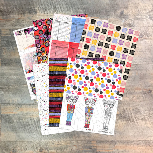 """Digital Paper Collection for """"20