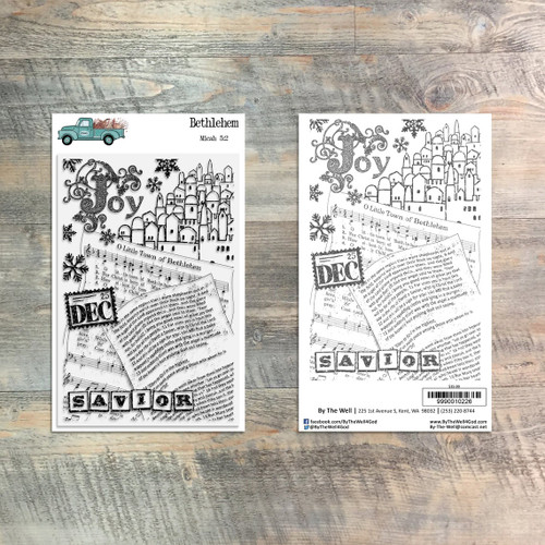 Bethlehem - 1 Piece Stamp Set - ByTheWell4God