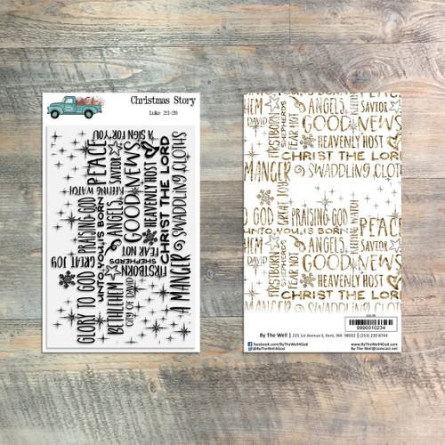 Christmas Story - 1 Piece Stamp Set - ByTheWell4God