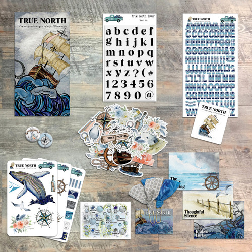 True North, Navigating Life's Storms by Judi Allen - Devotional Kit for Bible Journaling from ByTheWell4God