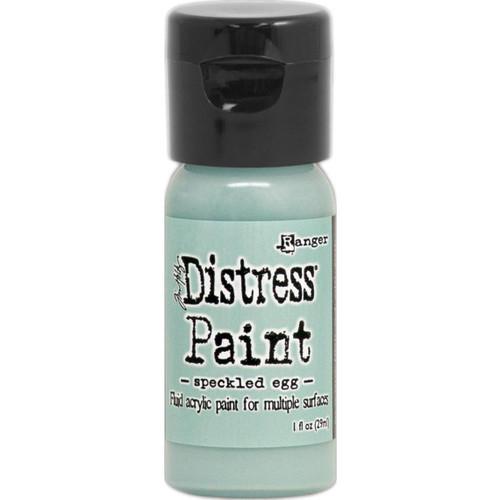 Speckled Egg Distress Paint - Fluid Acrylic - Flip Top - 1 oz