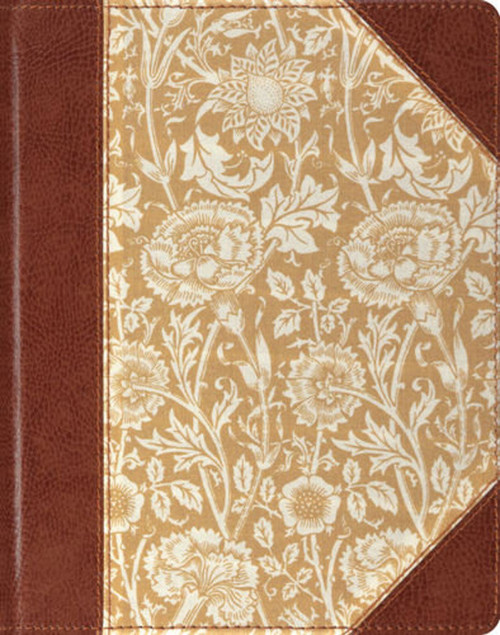 ESV Single Column Journaling Bible (Antique Floral Design)