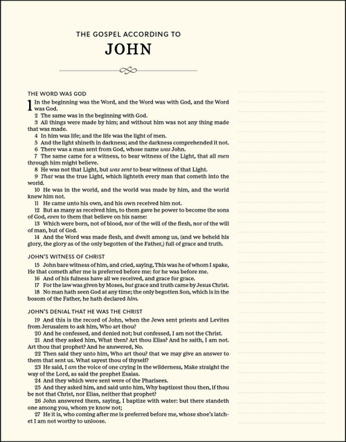 KJV, Journal the Word Bible, Cloth Over Board, Blue, Red Letter Edition, Comfort Print