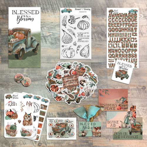 Blessed to be a Blessing by Judi Allen - Devotional Kit for Bible Journaling from ByTheWell4God