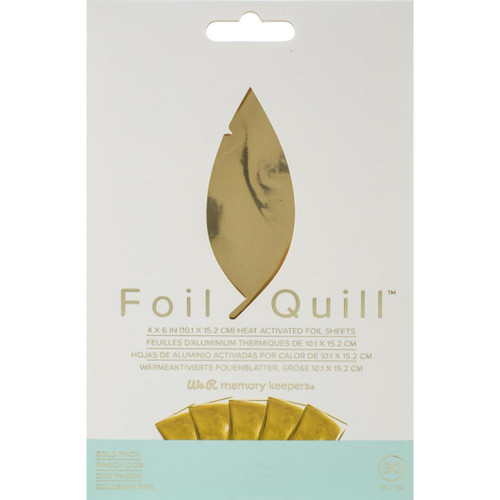 Gold Finch Foil Quill Heat Activated Foil Sheets - for Bible Journaling and Crafting