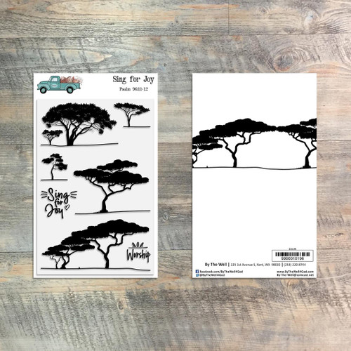 Sing for Joy - 7 Piece Stamp Set - ByTheWell4God