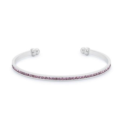 Channel Set Cuff Bracelet
