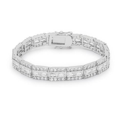 Cubic Zirconia Women's Bracelet