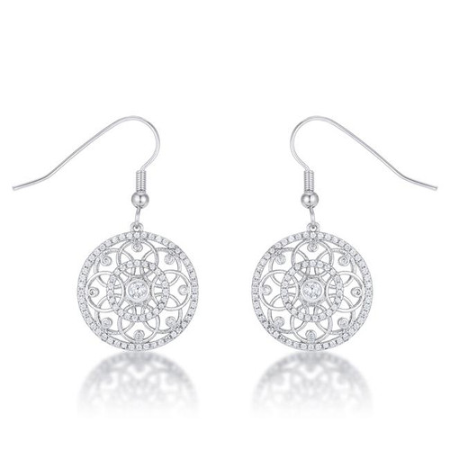 Interlocking Circle Earrings