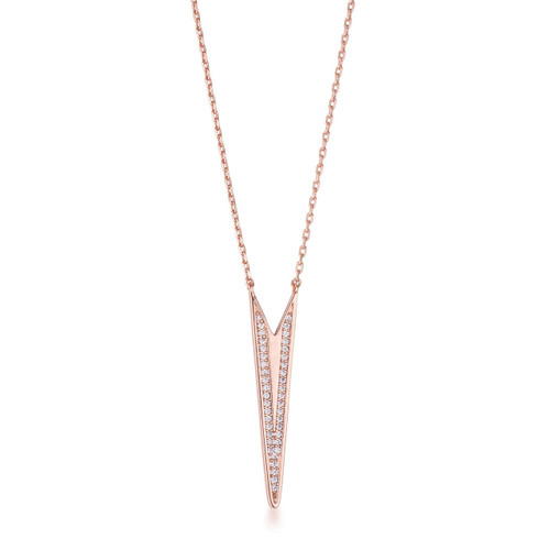 Women's Rose Gold Necklaces