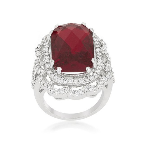 Women's Cubic Zirconia Cocktail Ring