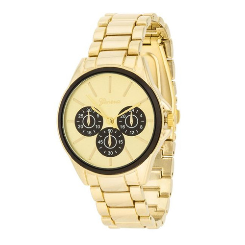 Women's Geneva Gold watch