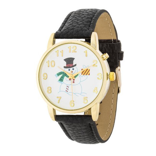 Snowman holiday watches