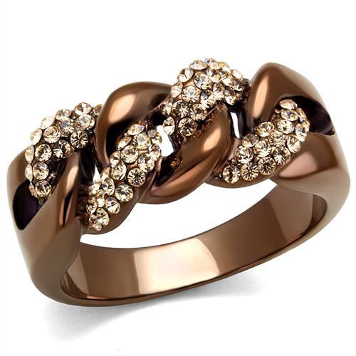 Men's brown rings