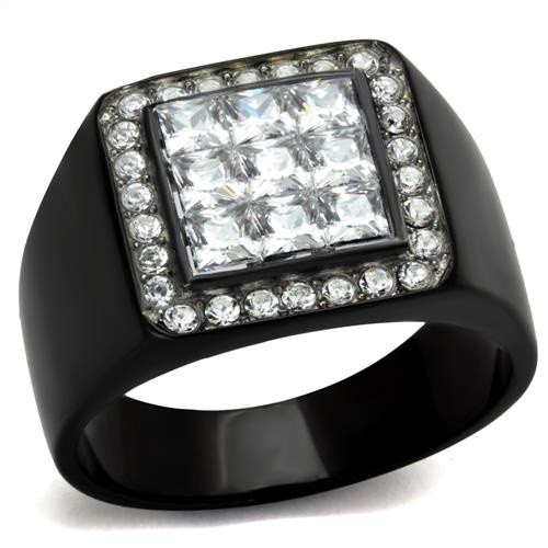 Men's AAA Grade Cubic Zirconia Ring