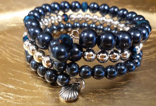 Handmade Memory Wire Bracelet