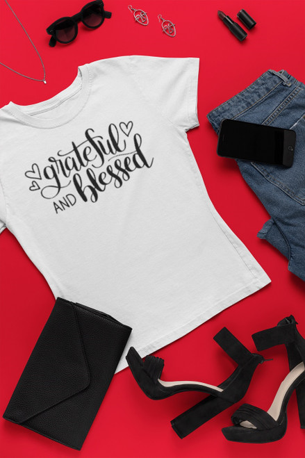 Grateful and Blessed Shirts
