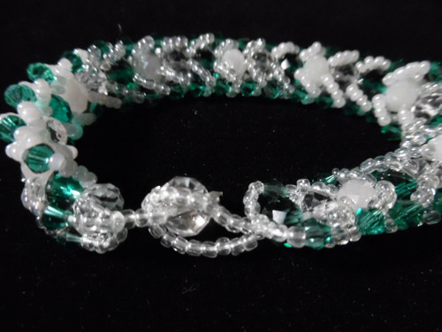 handmade crystal bead Caterpillar bracelets