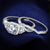 Round Cubic Zirconia 2-Piece Halo Bridal Ring Set 4 TCW In Rhodium Over Sterling Silver