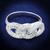 1 ct tw Classic Interlocking Cubic Zirconia Cluster Ring