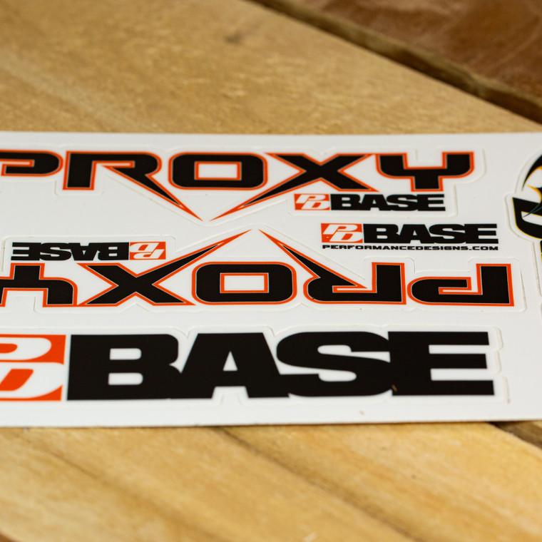 PD BASE sticker sheet
