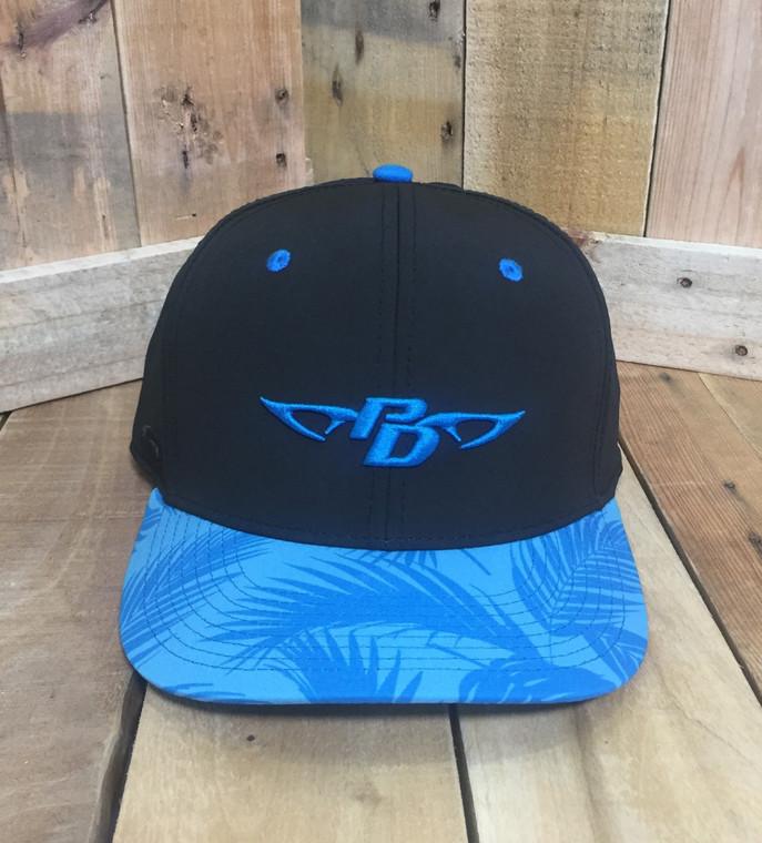 PD Blue Floral Hat