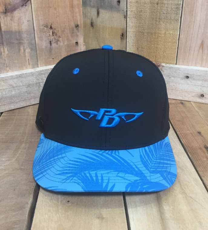 PD Blue Floral Hat