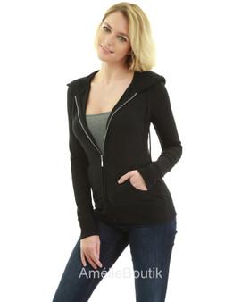 Hoodie Pocket Zip Up Jacket