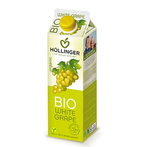 HOLLINGER ORGANIC WHITE GRAPE 1 LTR