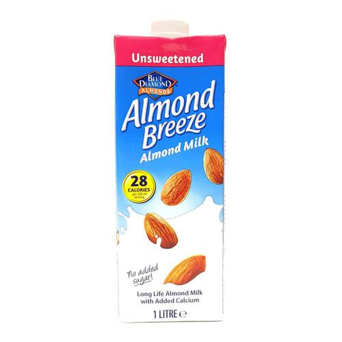 BLUE DIAMOND ALMOND MILK UNSWEETEND (28) 1 LTR