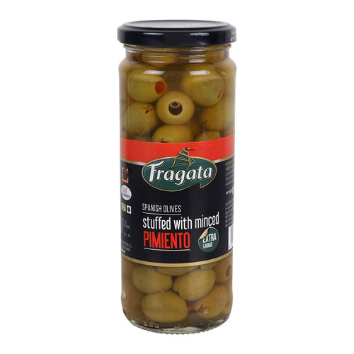 FRAGATA OLIVES GREEN MINCED PIMIENTO 450 GM