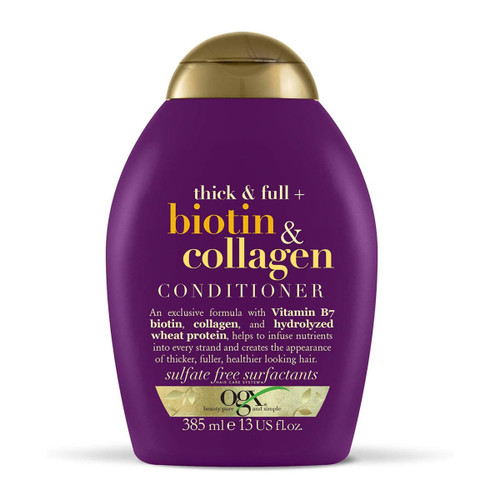 OGX BIOTIN & COLLAGEN CONDITIONER 385 ML