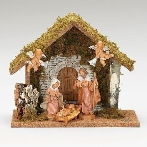 "5"" Wedding Creche Nativity"