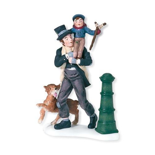 Bob Cratchit & Tiny Tim