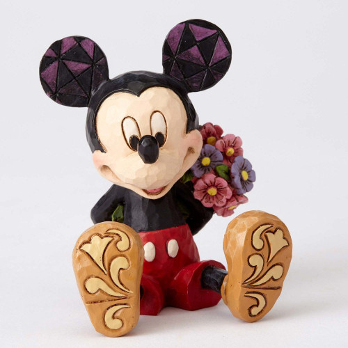 Mini Mickey with Flowers
