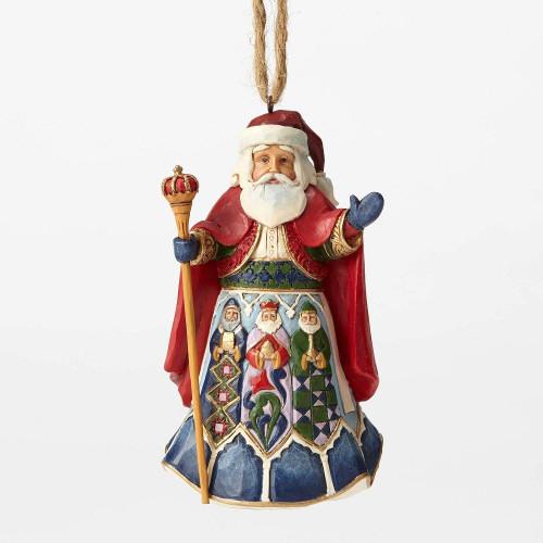 Spanish Santa Ornament