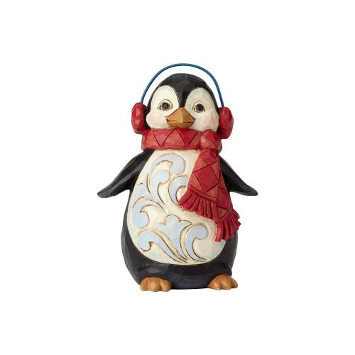 Mini Penguin w/ear muffs/Scarf