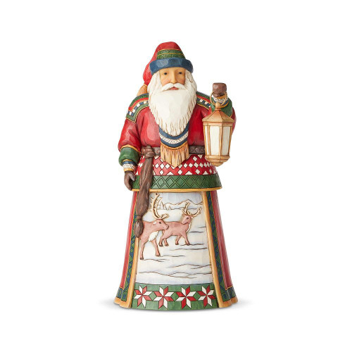 Lapland Santa With Lantern Fig