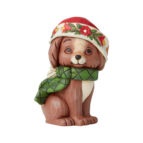 Mini Christmas Puppy