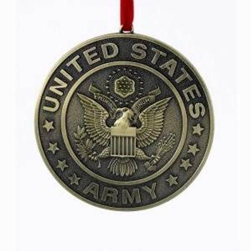 U.S Army Metal Ornament