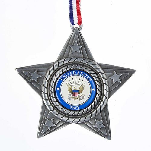 US Navy Star Ornament