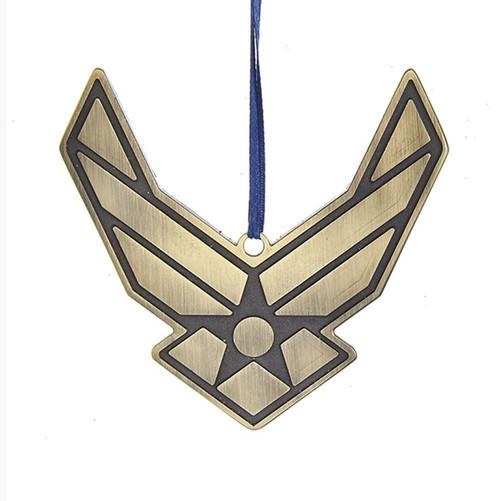Metal Air Force Ornament