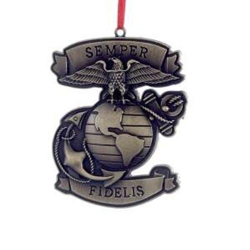 U.S. Marine Corps Metal Orn