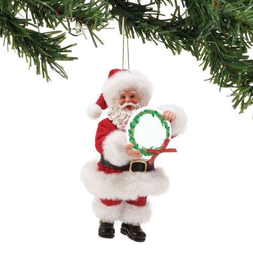 A Message From Santa Ornament